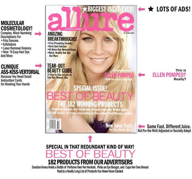 October Allure: Who's That Girl?
