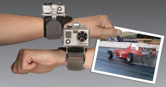 Wrist-Mounted Camera: GoPro Digital Hero