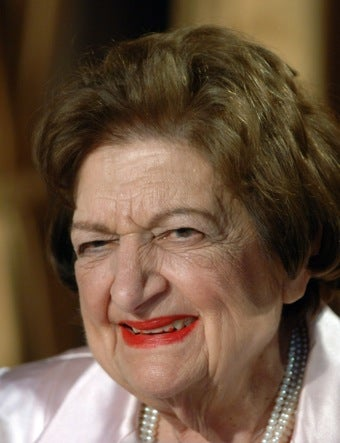 Helen Thomas On Bloggers, The Press, And Obama's Failings