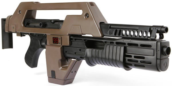 Don't Go to War with This Aliens Replica M41A Pulse Rifle