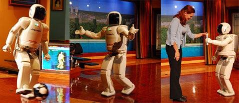 Honda ASIMO to Return to Disneyland, Run Around and Talk Up a Storm