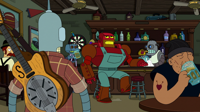 Futurama makes us wish we'd stayed in prison