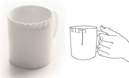 Chances Are This Is The Only Mug With a Coffee-Stained Underbite