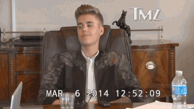 Justin Bieber's Deposition Video Proves He's World's Funniest Asshole