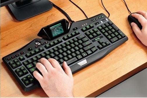 Logitech Delays Pricey LCD Gaming Keyboard