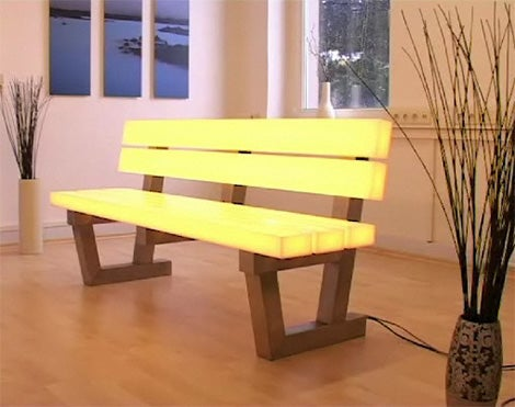 Frellstedt Light-Up Bench: Illumination For Bums