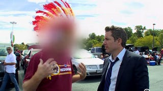 Here's <em>The Daily Show</em> Showdown That 'Defamed' Racist Redskins Fans