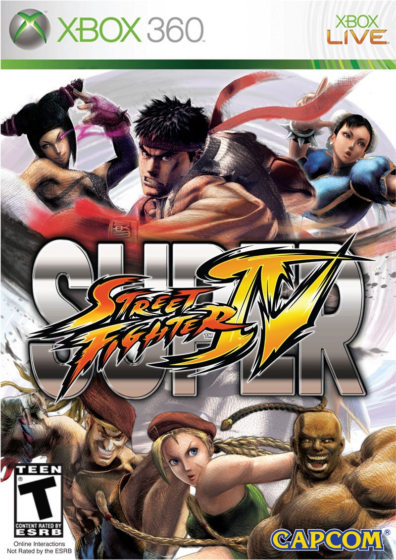 This Is Your Super Street Fighter IV Box Art