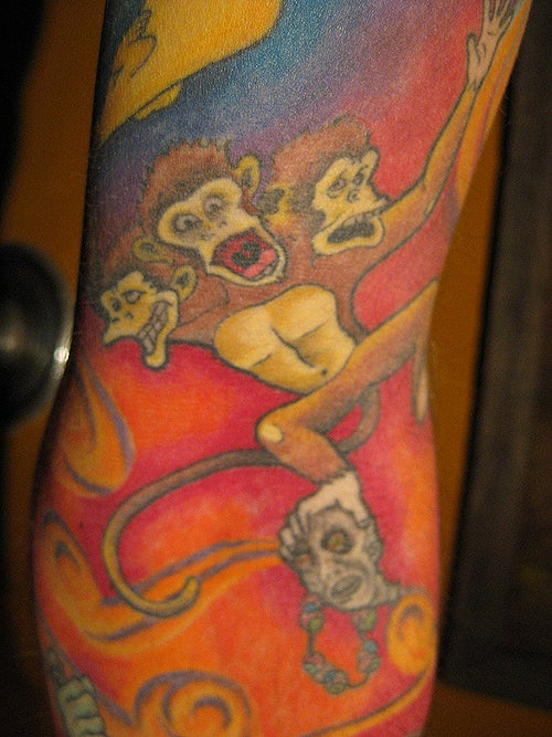 An Enormous, Amazing Monkey Island Tattoo