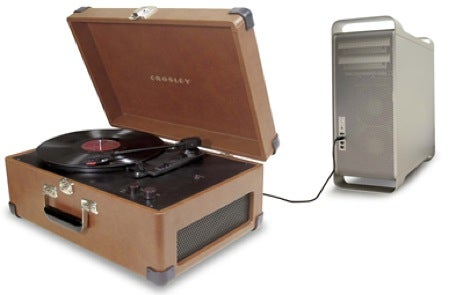 USB Turntable Disguised As Suitcase For No Other Reason Except That It Can