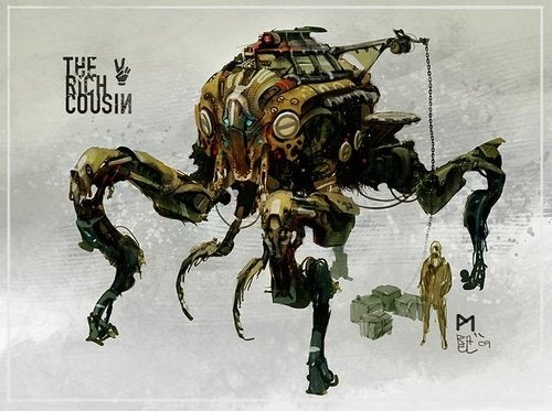 The Man-Faced Mechas and Bug-Shaped Vehcles of Our Future Wars