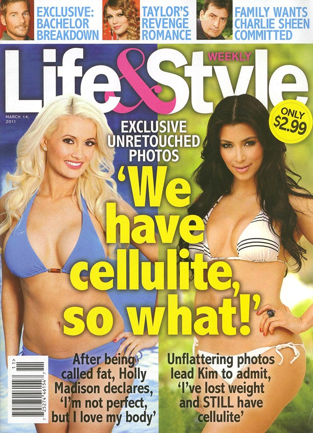 This Week In Tabloids: Brave Celebrity Soldiers Losing The War Against Cellulite