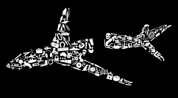 A Crashed Plane, a Lost Island, 108 Objects, and a T-Shirt
