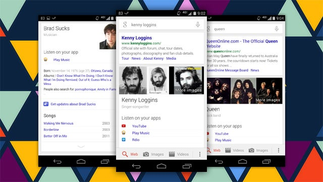 Google Search Now Lets You Launch Music Apps From Artist Searches