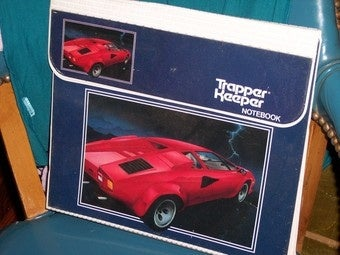 You Can Only Have Luxury in Trapper Keeper Form