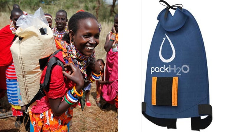 This Smart Water-Hauling Backpack Is Sterilized By Sunlight