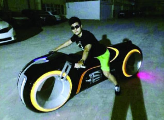 Tron Light Cycle Banned from Chinese City Streets. Wait, What?