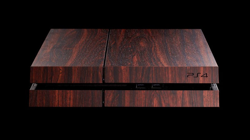 We're So Close To A Wooden PS4, People