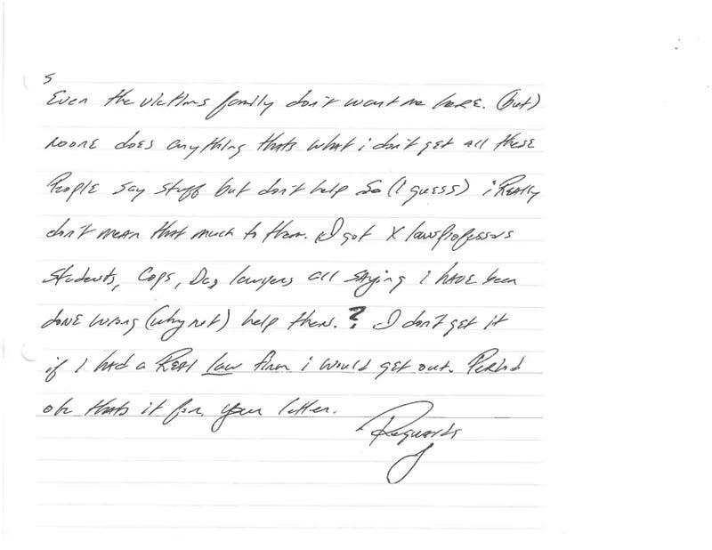 Letters From Death Row: Texas Inmate Jeff Wood, Scheduled to Die This Month