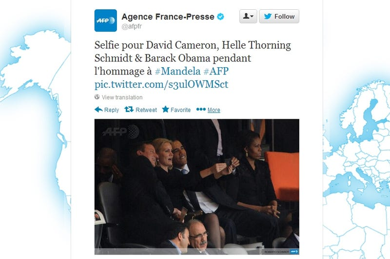 Obama in the Doghouse After Taking Too-Friendly Selfie with Danish PM