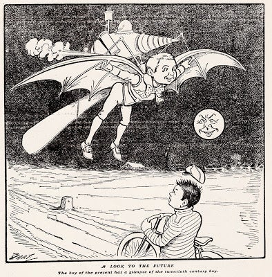 Boy's Flying Machine of the 20th Century (1900)