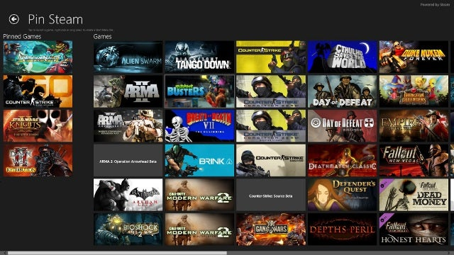 Steam для windows 8