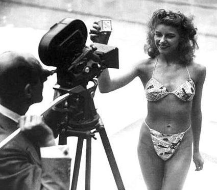 The First Bikini Model, 1946