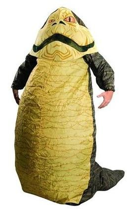 This is Either a Terrible Jabba the Hutt Costume or a Great Angry Turd Costume