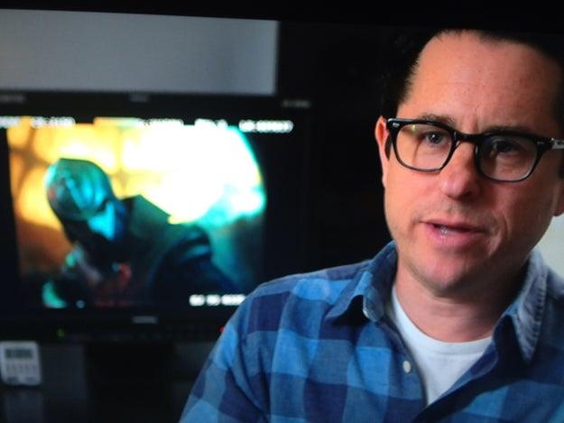 Blurry Klingons in JJ Abram's MTV Interview