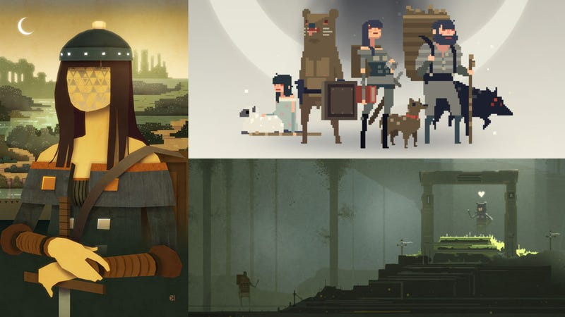 Some Stylish Tributes to Sword & Sworcery, One Hell of a Stylish Game