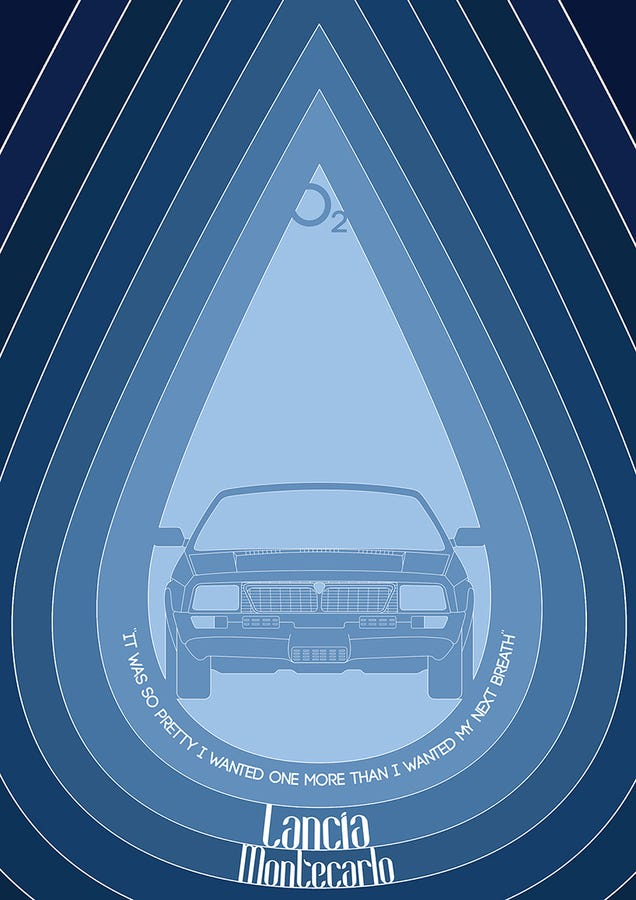 You need these ridiculously cool lancia top gear posters for Cool posters for your room