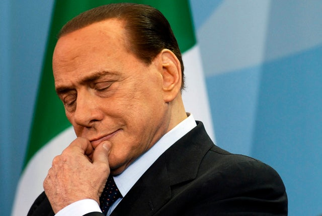 Italian Porn Star Has Berlusconi's Back