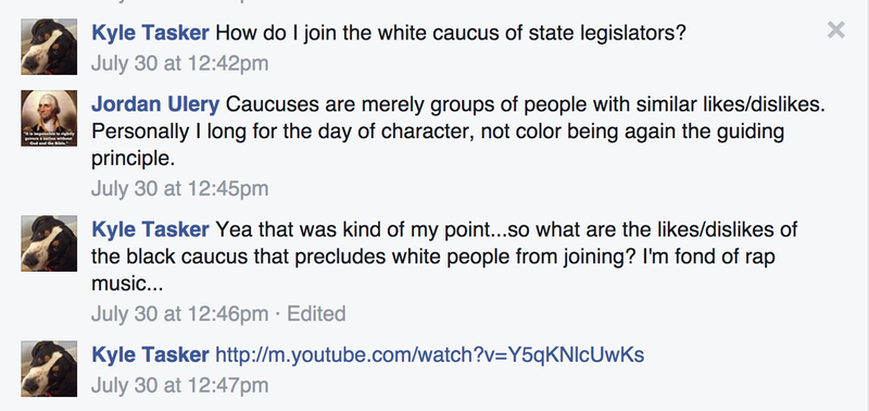 "N.H. Republican: Black Caucus Should Like Me, I'm ""Fond of Rap Music"""