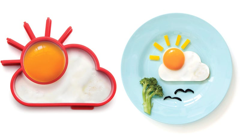 It's Impossible To Wake Up Grumpy With This Sunny Silicone Egg Mold