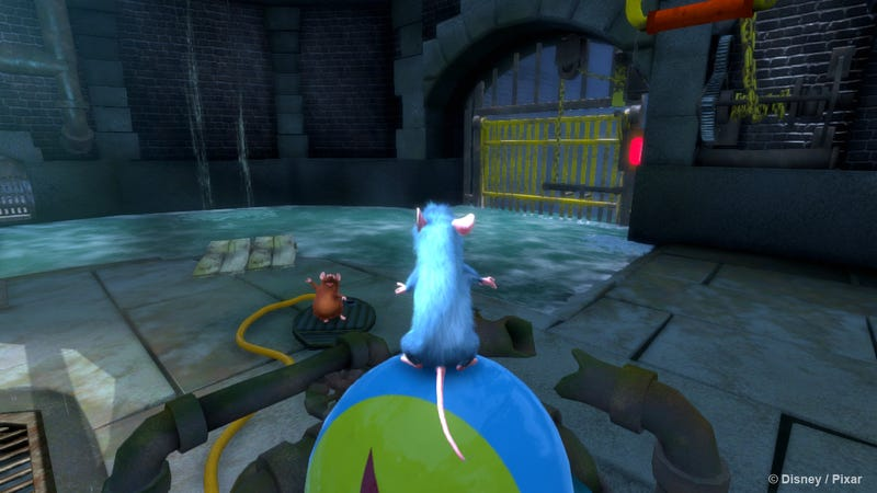 Only Kinect Rush Will Take You Up and Make You an Incredible Butt-Sliding Rat