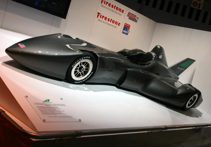 Delta Wing Racer: An IndyCar Batmobile Rocket Ship?