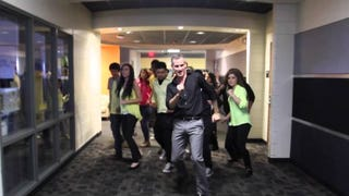 Teacher and His Students' 'Uptown Funk' Dance Routine Is Pure Magic