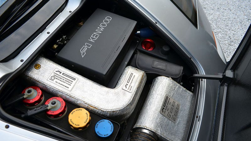 McLaren F1: German Engine, French Tools, Japanese Stereo, Swiss Watch