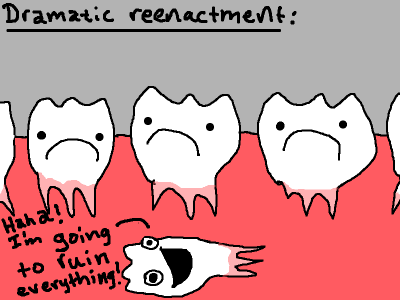 I hate my teeth