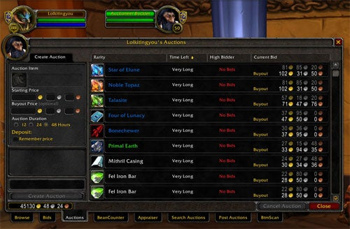 Blizzard Takes The World Of Warcraft Auction House Out Of Game