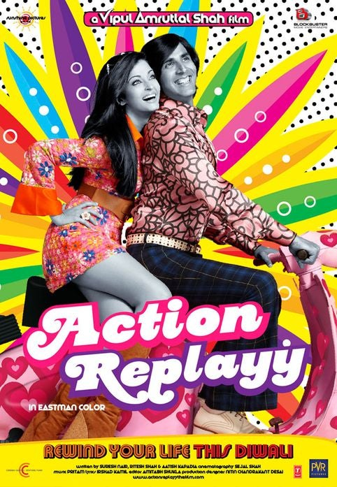 Action Replayy posters