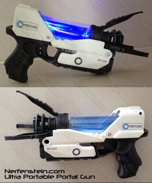 Awesome Lady Turns Nerf Guns into Video Game Guns