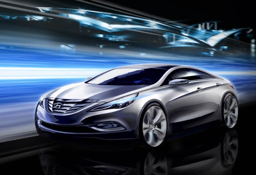 2011 Sonata, Rendered: Hottest. Hyundai. Never.