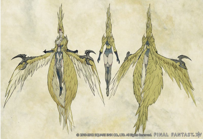 Fresh Final Fantasy XIV Screenshots and Concept Art Dazzle