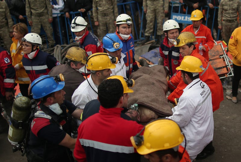At Least 232 Dead, 200 Missing After Explosion in Turkish Mine