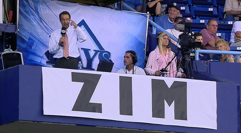 Rays Broadcaster Todd Kalas Chokes Up While Reporting Don Zimmer's Death
