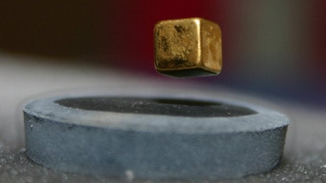 Make a semi-superconductor with a frying pan and liquid nitrogen