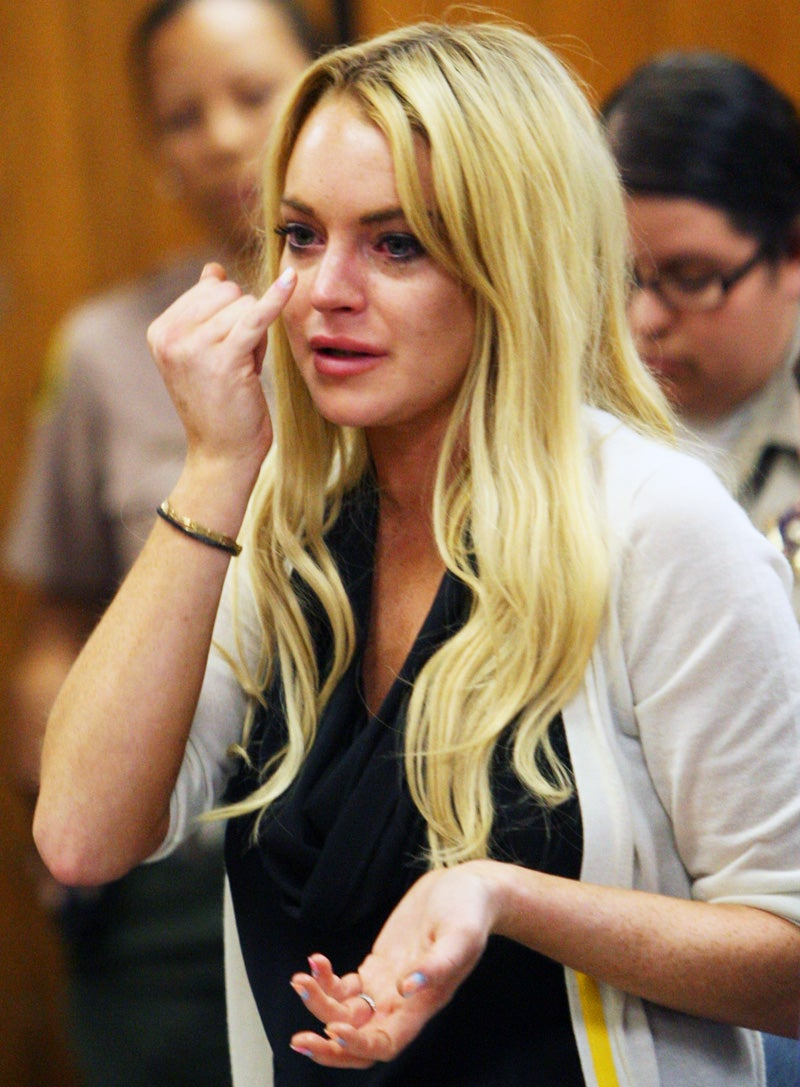 Lindsay Lohan Protests 'Inhuman' Punishment