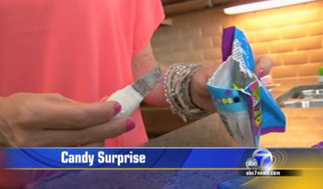Woman Finds Rusty Three-Inch Blade Inside Bag of Jolly Rancher Candies