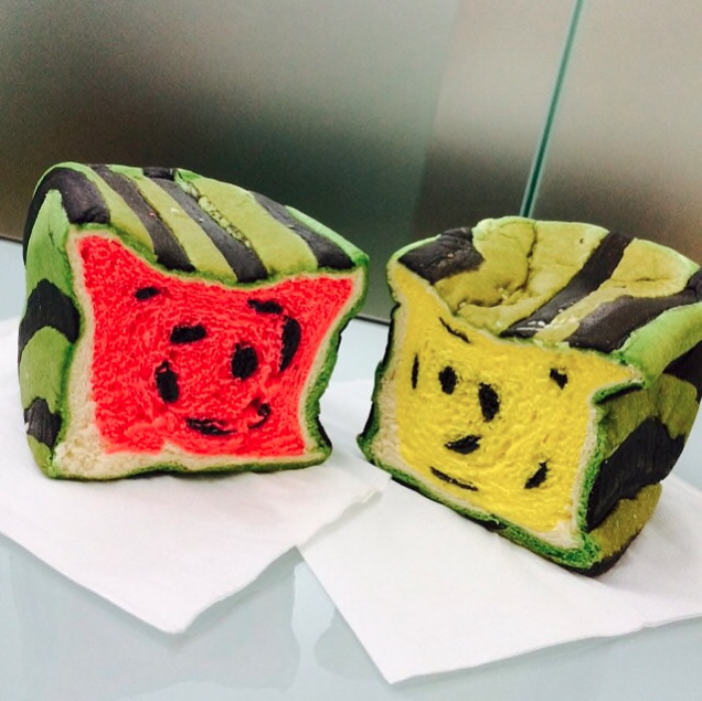 Bread Shaped Like... Square Watermelons